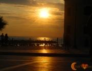 Tramonto nel mare di Marina Piccola