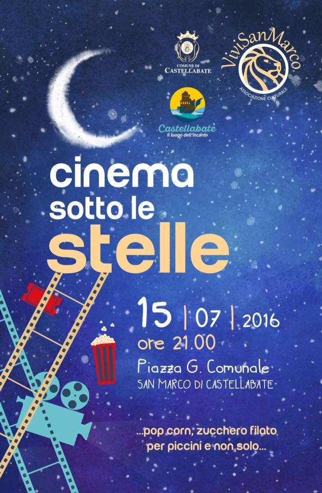 Cinema sotto lo stelle castellabate