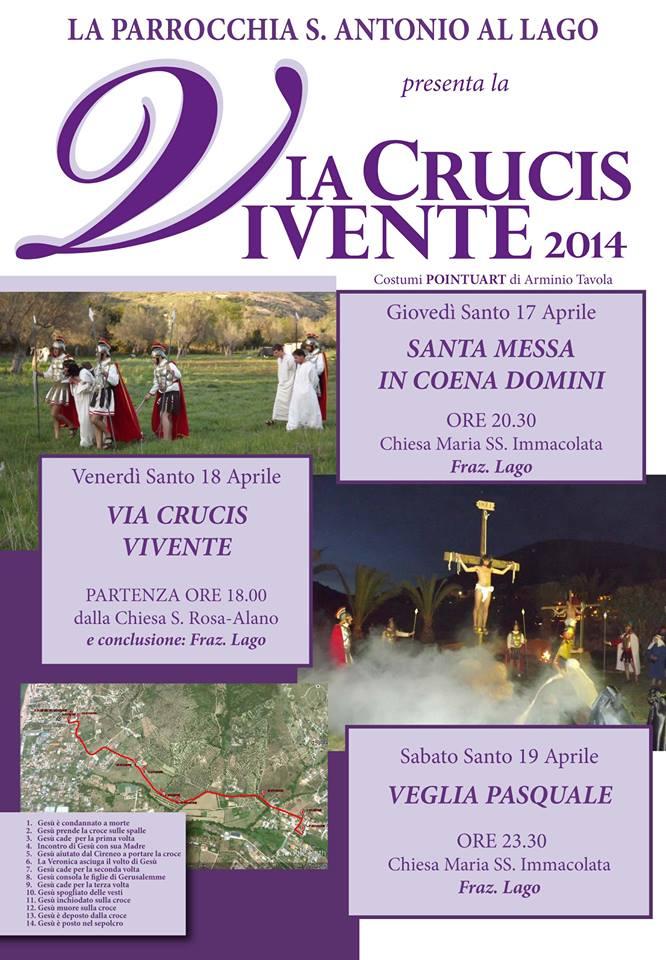 Via Crucis Vivente, Alano - Lago di Castellabate