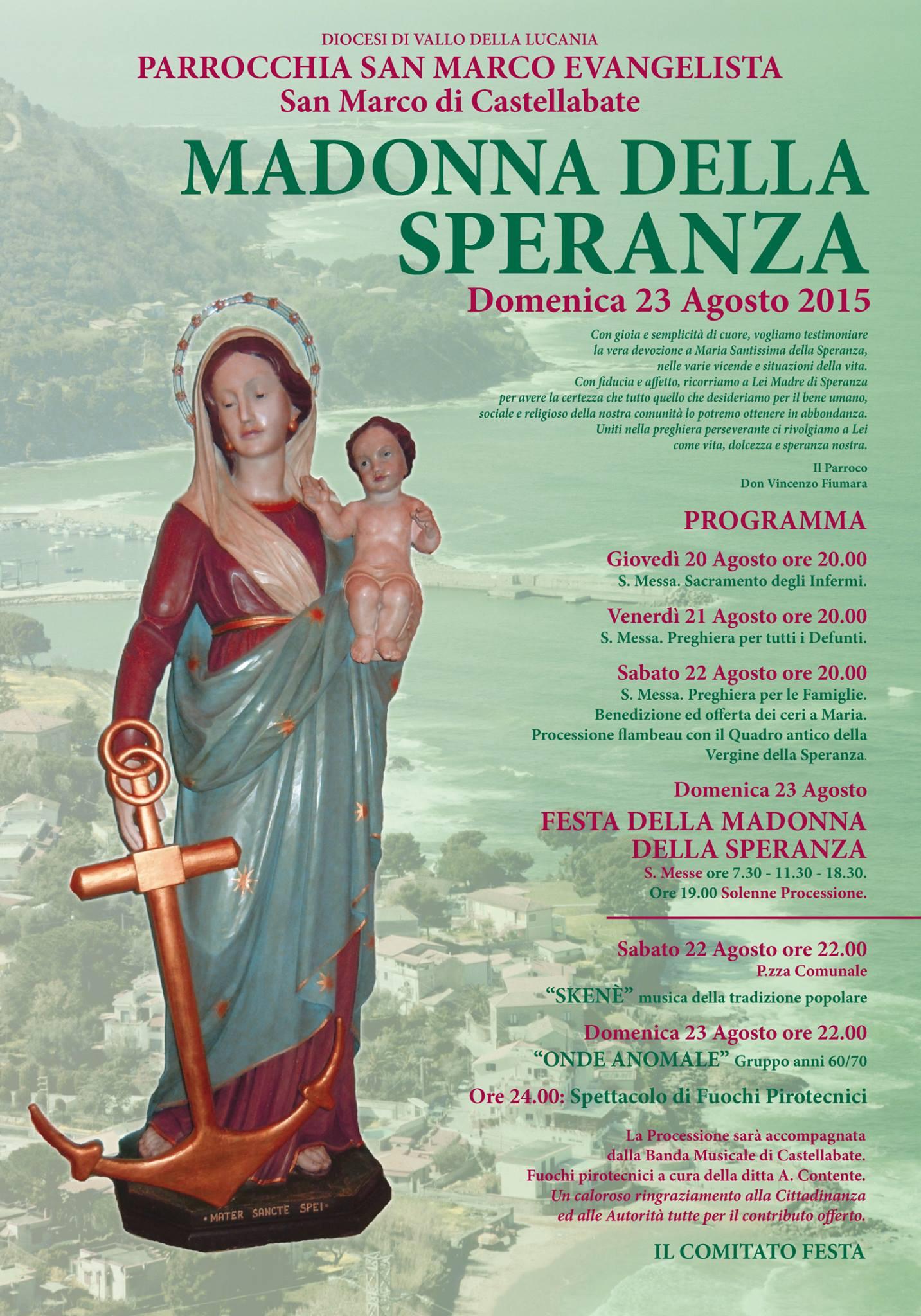 Festa Madonna della Speranza 2015 Castellabate