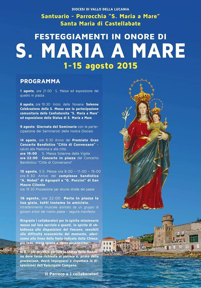 Festa Santa Maria a Mare 2015