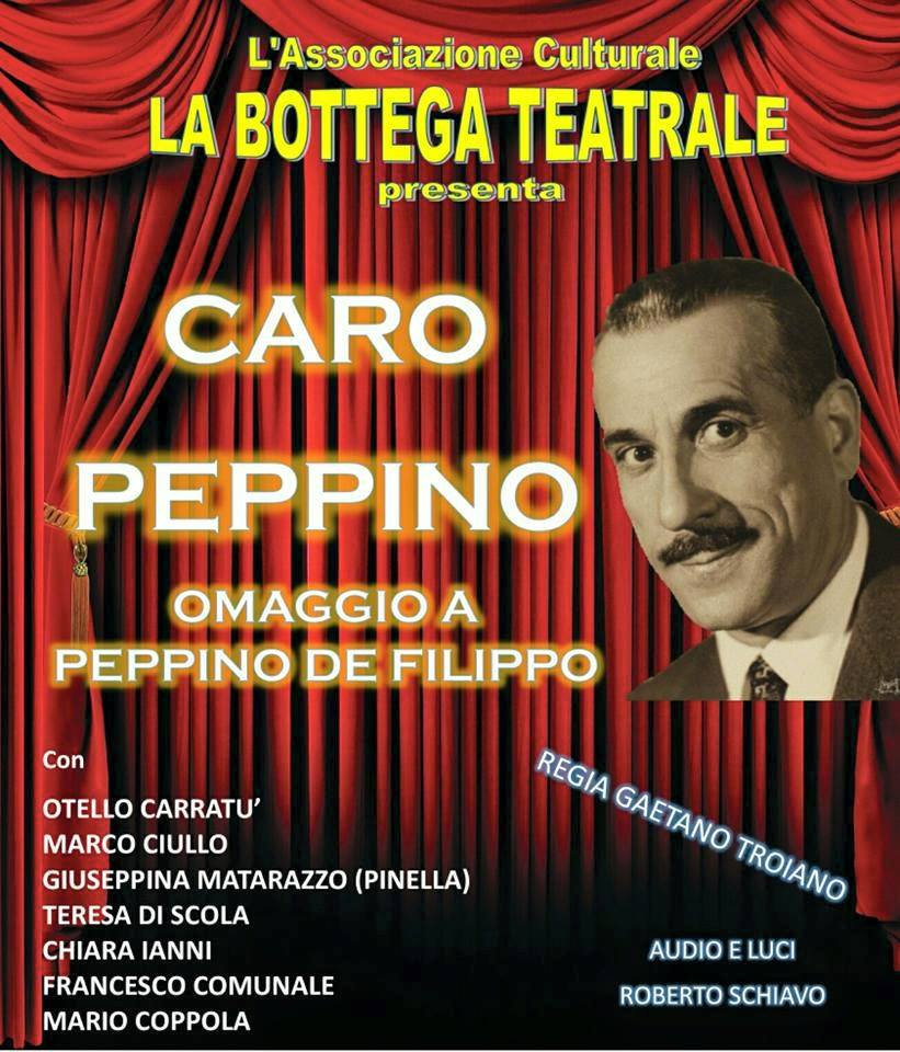 La Bottega Teatrale in Caro Peppino Castellabate