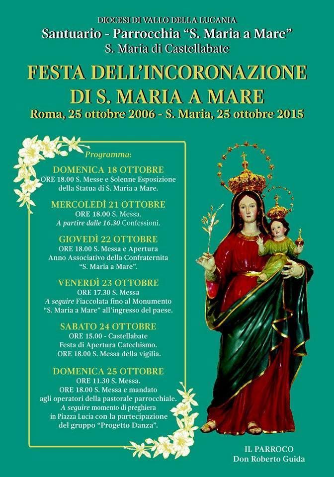 Festa incoronazione Santa Maria a Mare 2015