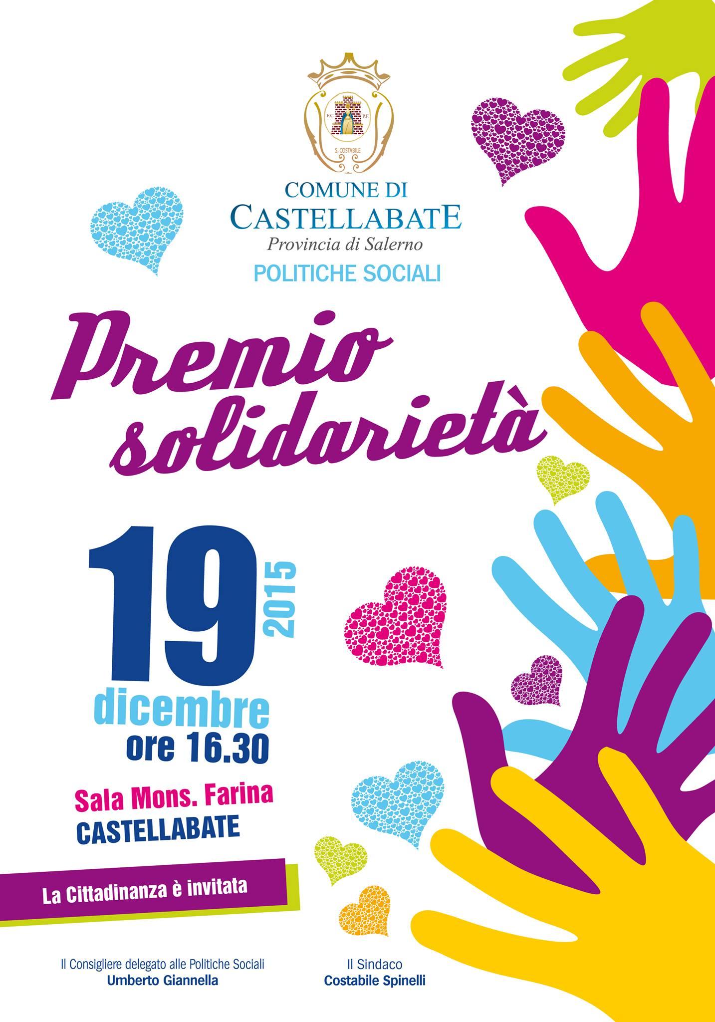 castellabate premio solidarietà 2015