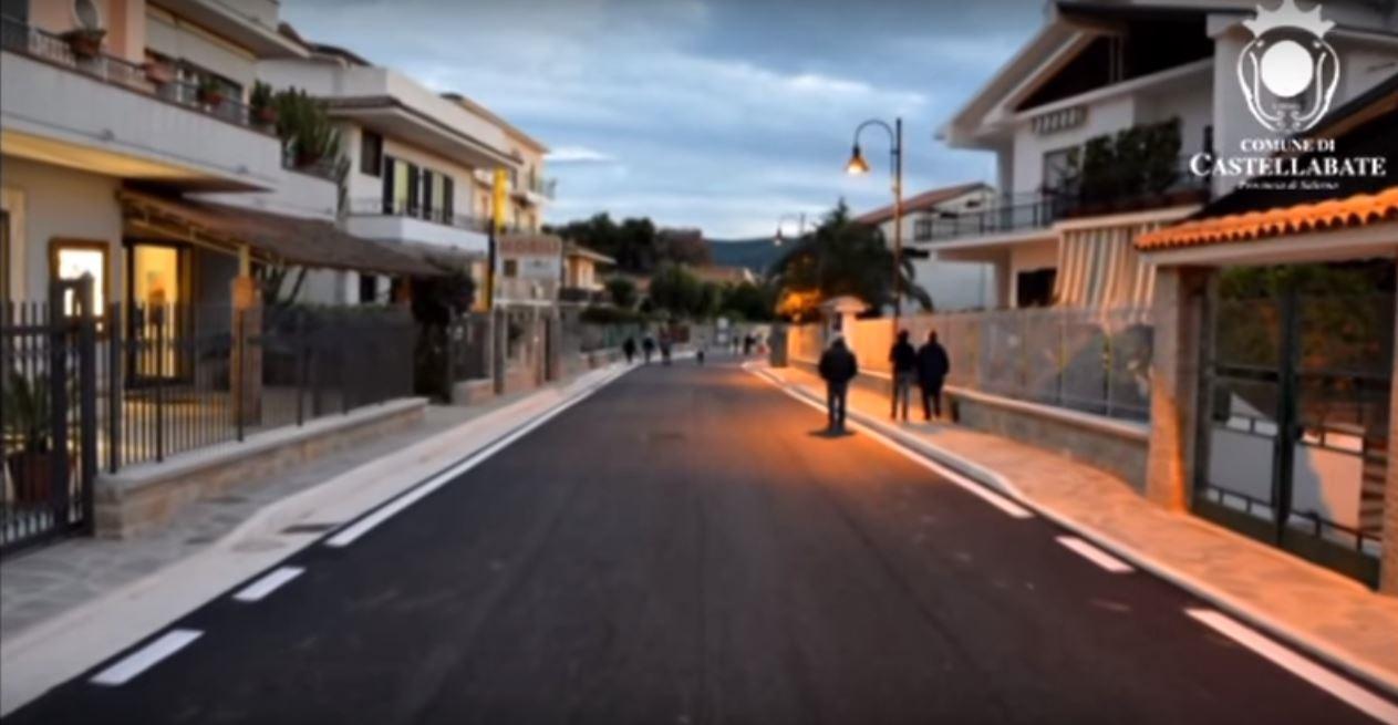 Inaugurazione viale grande castellabate