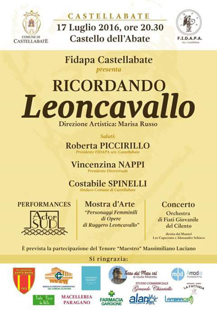 castellabate ricordando leoncavallo