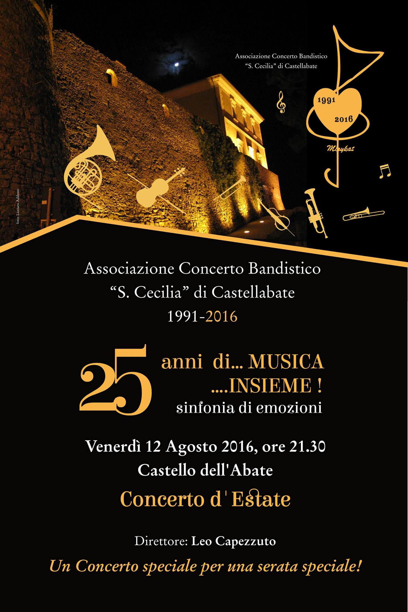 concerto d'estate santa cecilia castellabate