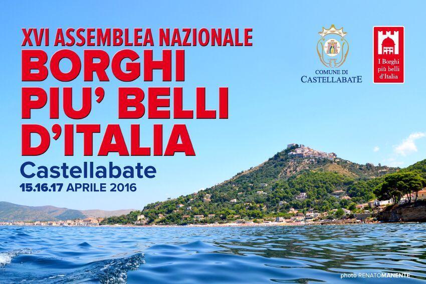 Castellabate XVI Assemblea nazionale Borghi più belli d'Italia
