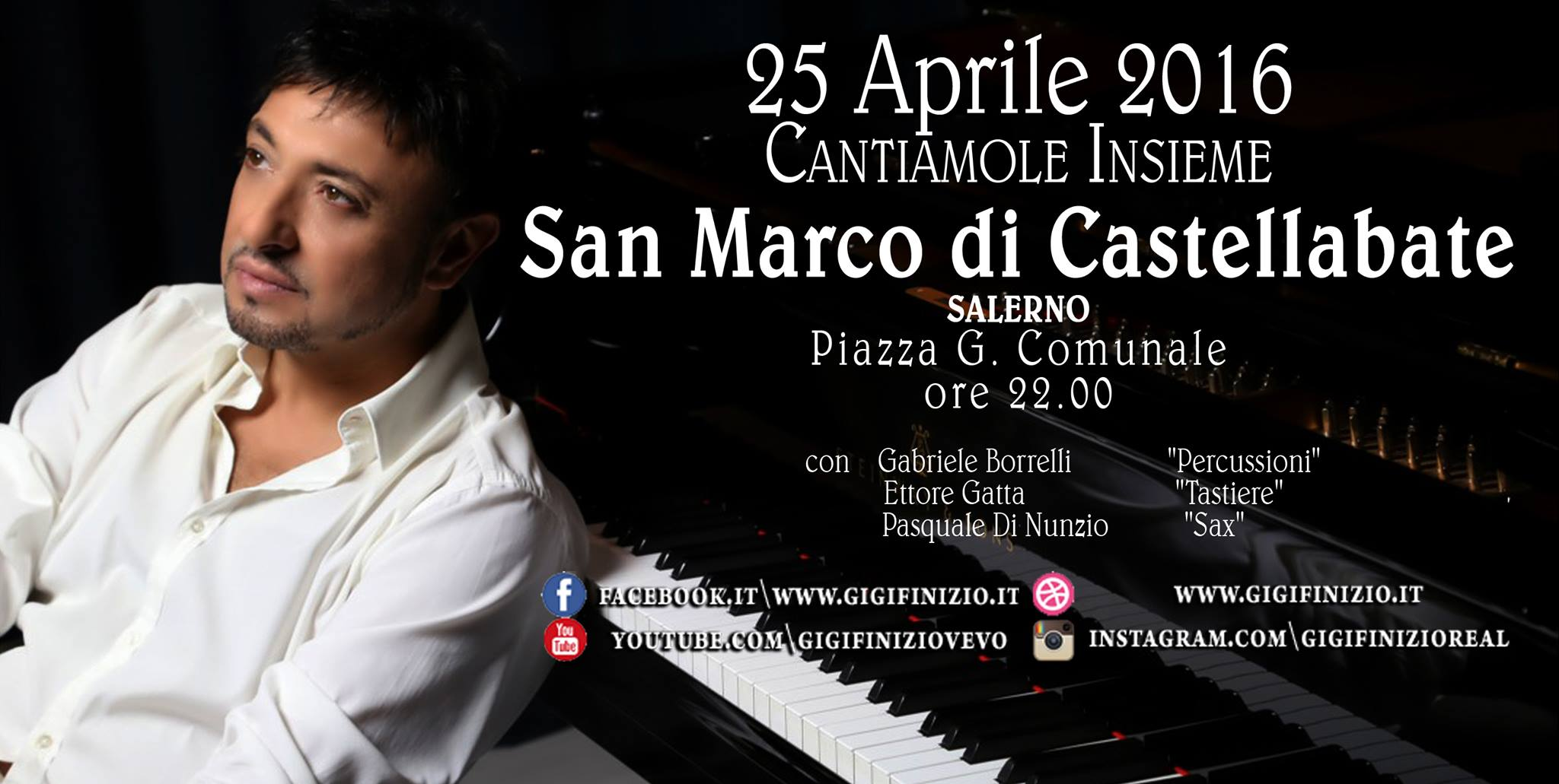 Concerto Festa San Marco Evangelista 2016
