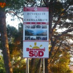 "Cartello ""Benvenuti al Sud"", Castellabate"