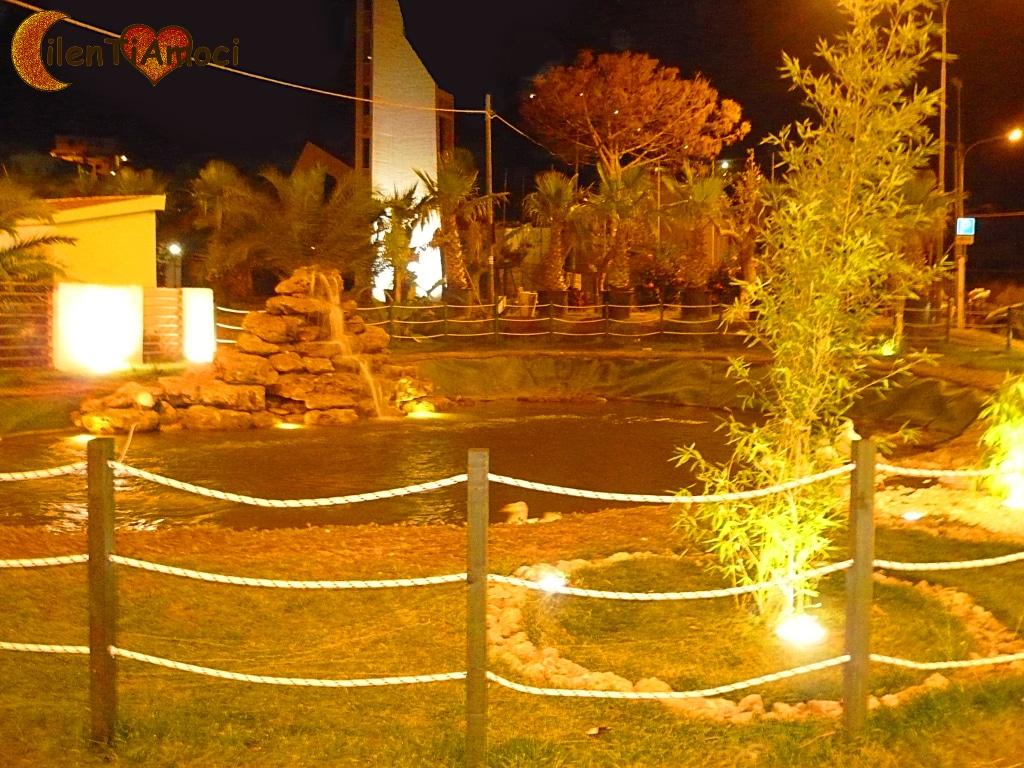 Fontana a Piazza Madre Teresa di Calcutta, Lago di Castellabate