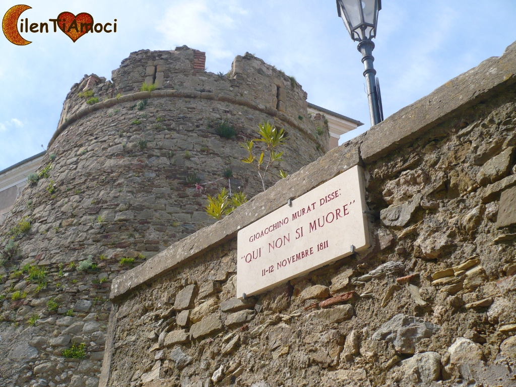 """Targa Murat """"Qui non si muore"""" Castellabate"""