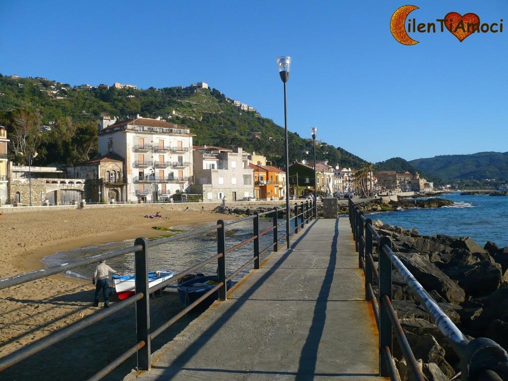 Lungomare Pepi e spiaggia dello Scario, Santa Maria di Castellabate