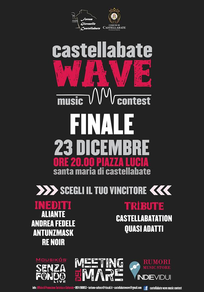 finale castellabate wave music contest