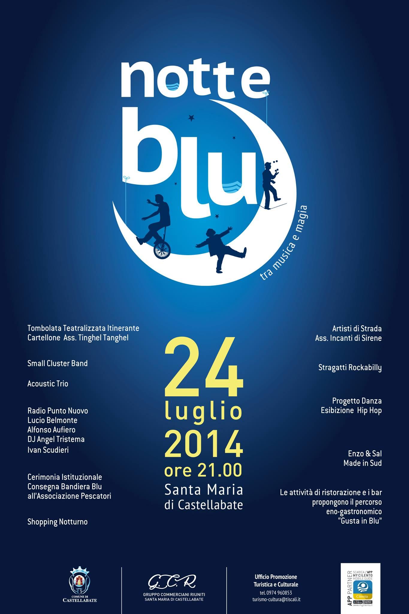 notte blu 2014