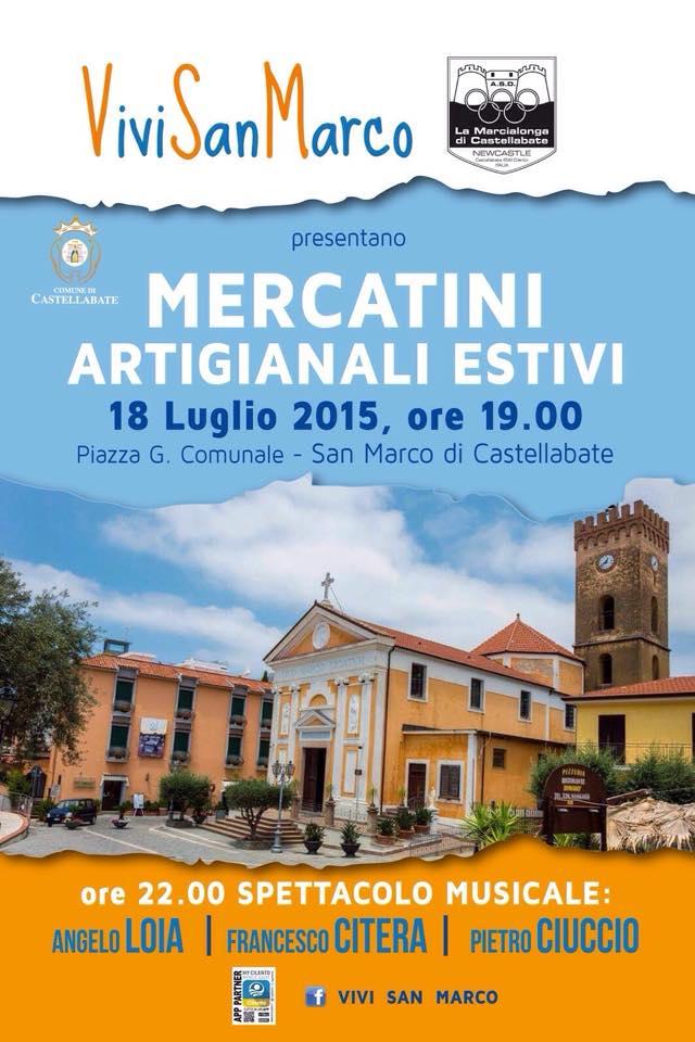 Mercatini artigianali estivi 2015 (San Marco)