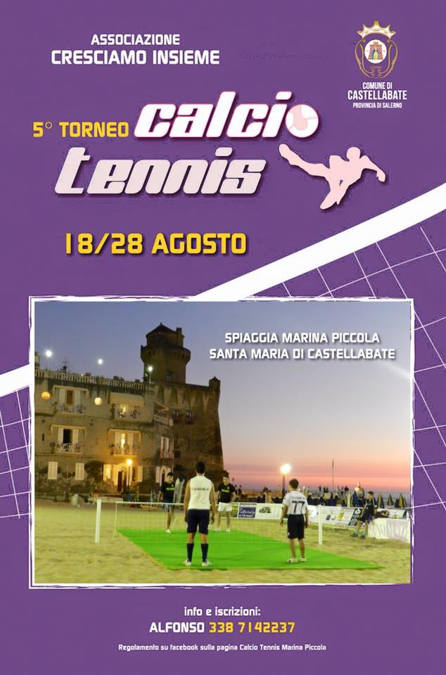 Torneo di Calcio Tennis 2015 Castellabate