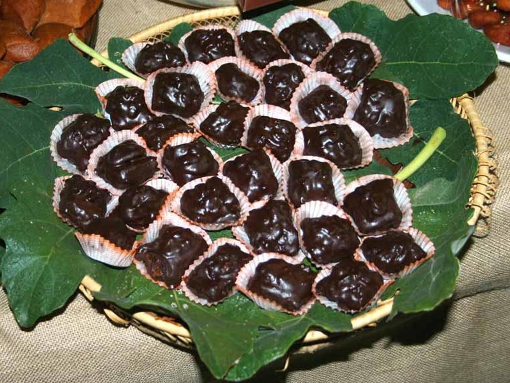 Fichi bianchi del Cilento al cioccolato