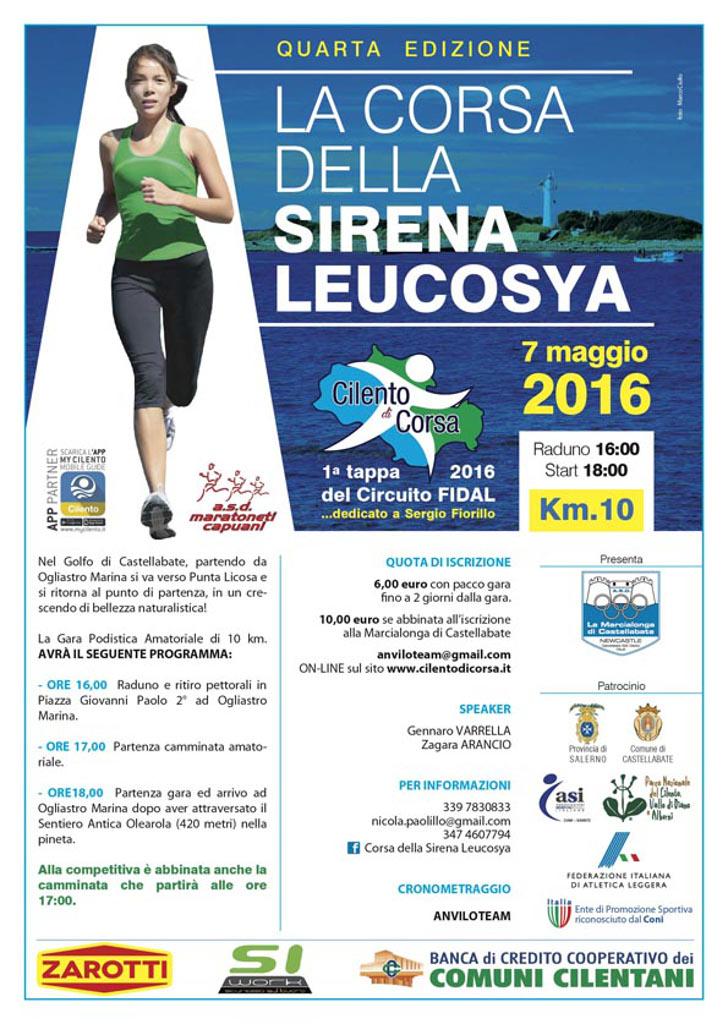 La corsa della sirena Leucosya 2016