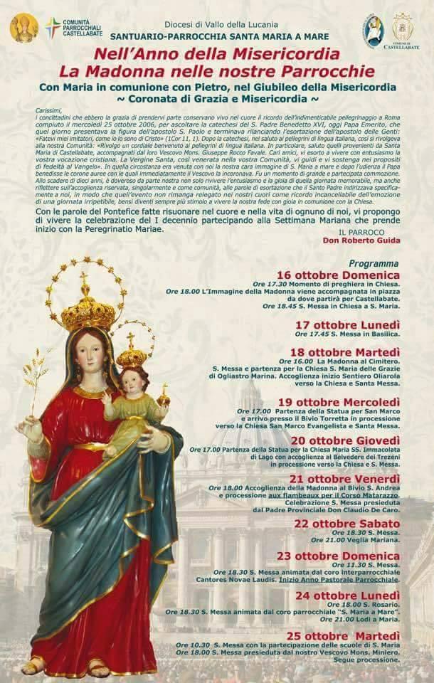 Santa Maria di Castellabate Festa incoronazione di Santa Maria a Mare 2016